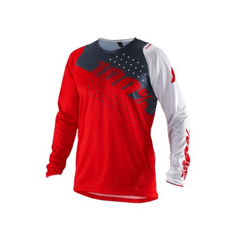100% R-Core Youth Jersey Red